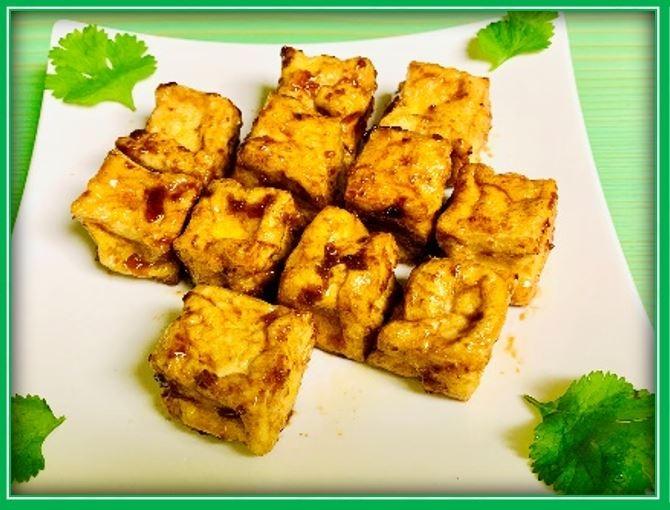 A6. BBQ Tofu (Đậu Hũ Chiên)