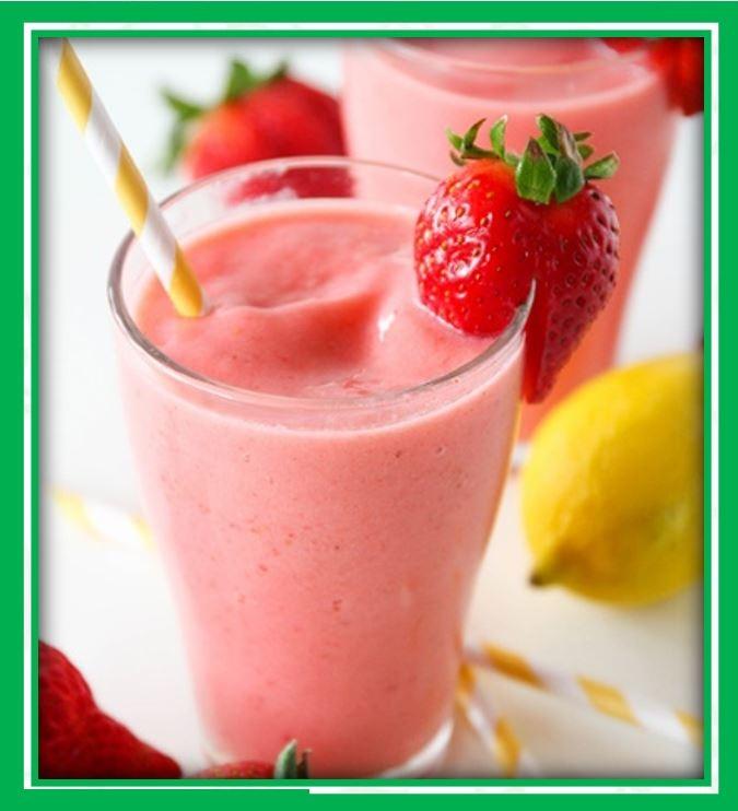 B3. Strawberry Smoothie (Dâu)