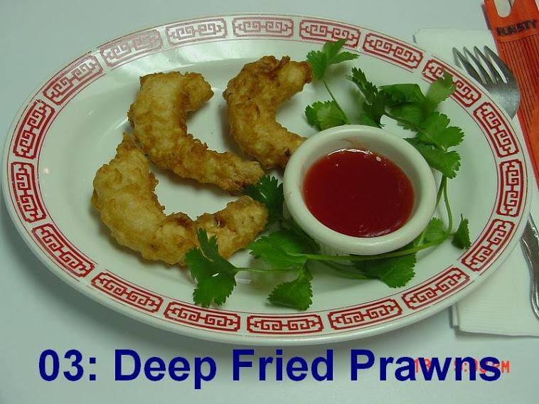 3. Deep Fried Shrimps (4 shrimps)
