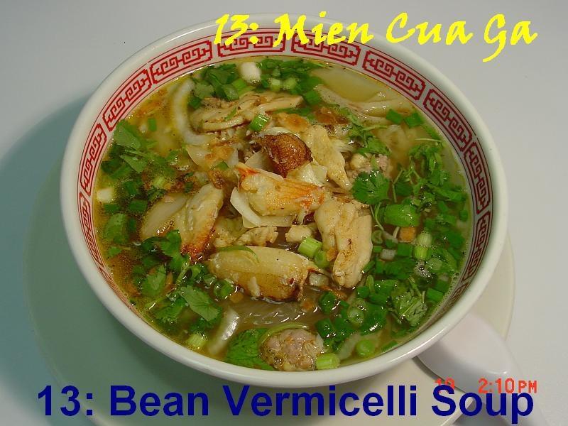 13. Bean Threads Crab Soup