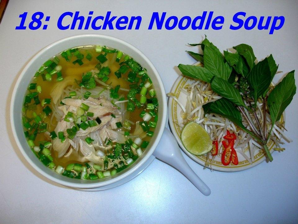 18. Chicken Soup (Pho Ga)