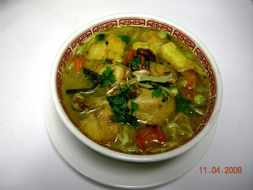 19. Curry Chicken Soup