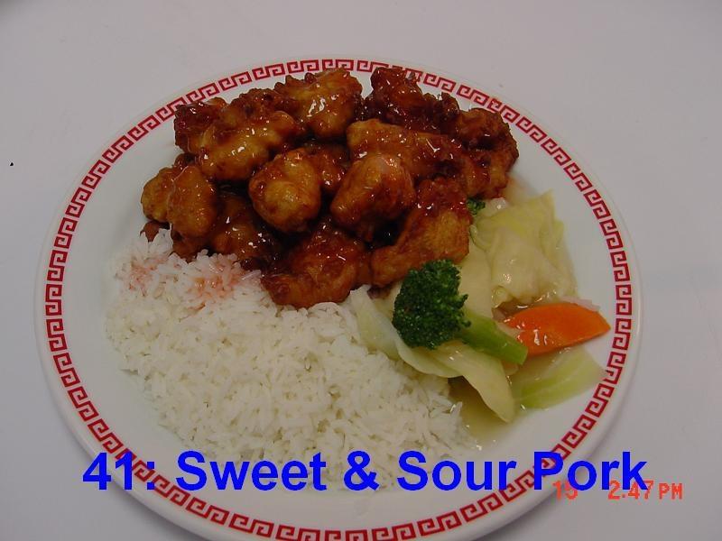41. Sweet & Sour Pork
