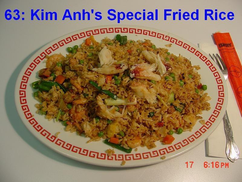 63. Kim Anh's House Fried Rice