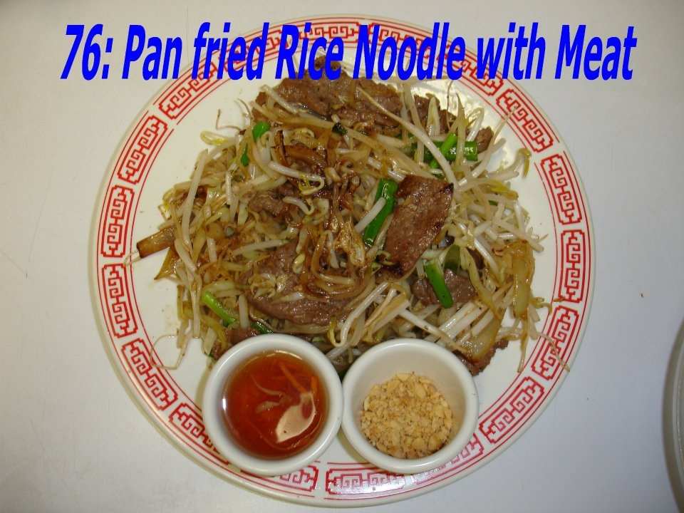 76. Pan Fried Rice Noodle