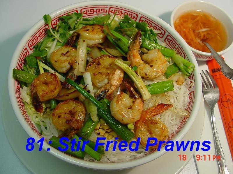 81. Stir Fried Shrimps