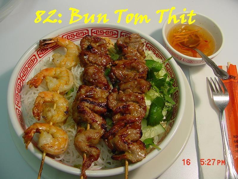 82. Grilled Shrimp & Pork