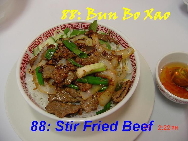 88. Stir Fried Beef