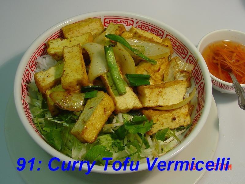 91. Curry Tofu
