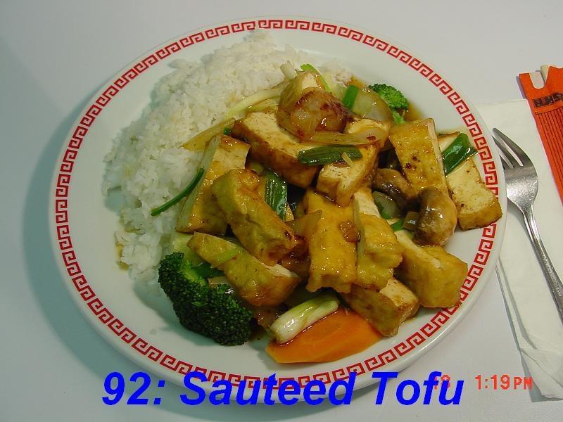 92. Sauteed Tofu