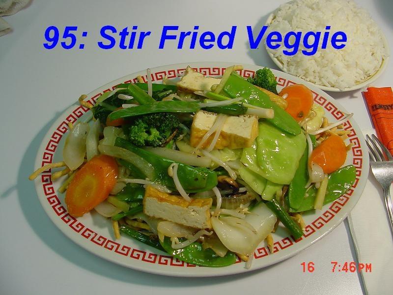 95. Stir Fried Veggie