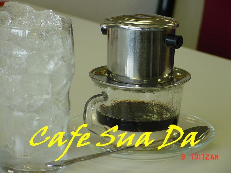 124. Ice Coffee with Sweetened Milk