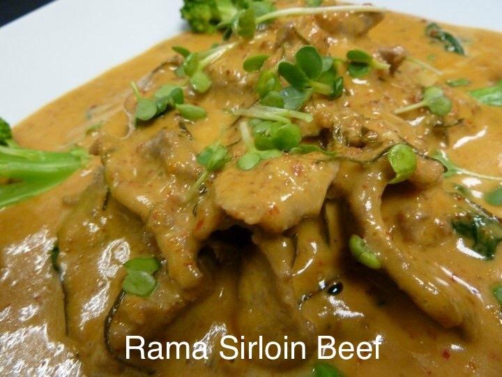 L'Thai Rama Beef (Pra Ram Long-Song)