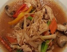 Pad Khing (Gingerine Sauce)