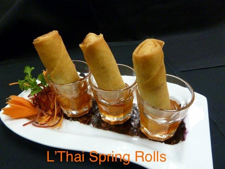 L'Thai Spring Rolls (Por-Pia-Tod)