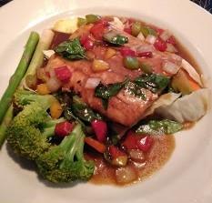 Basil Grilled Salmon (Ka-Prow Salmon)