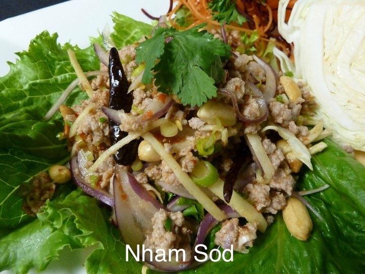 Nham-Sod (Zesty Ground Pork Salad)