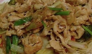 Chicken Chow Mein (Large)