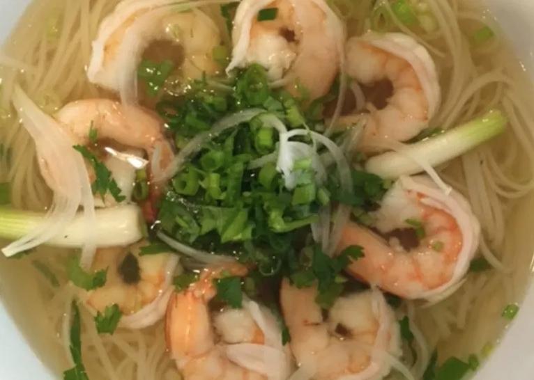 N6. Shrimp Noodle Soup