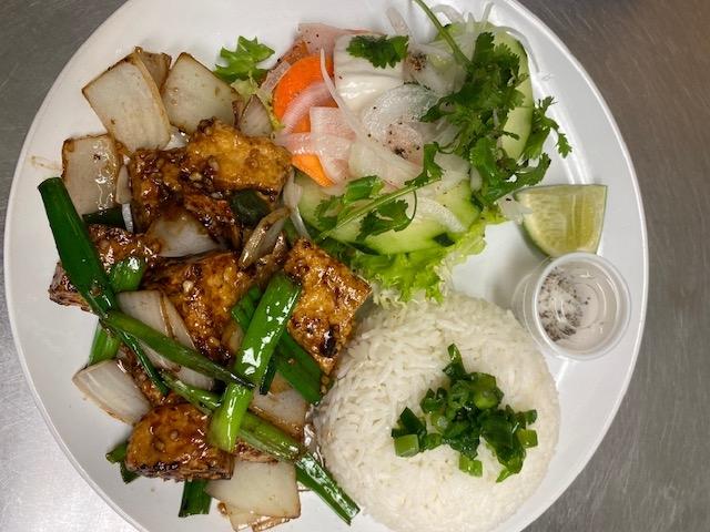 R9. Steam Rice & Shaking Tofu