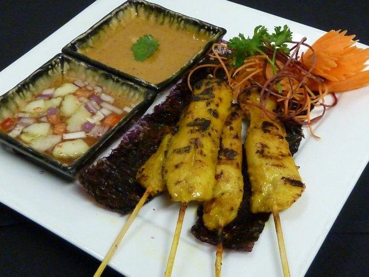 Satay Chicken (Gai Satay)