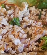 Larb (Spicy Chicken or Grass-fed Sirloin Salad)