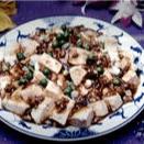 Hot & Spicy Bean Curd with Pork