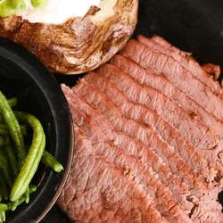 Smoked Beef Brisket Platter