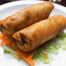 A3. Crispy Pad Thai Rolls