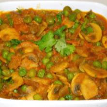 Mutter Mushroom Curry